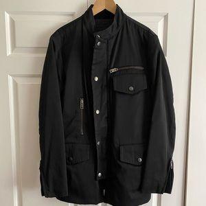 Authentic Gucci Men Black Military Jacket IT Sz.48
